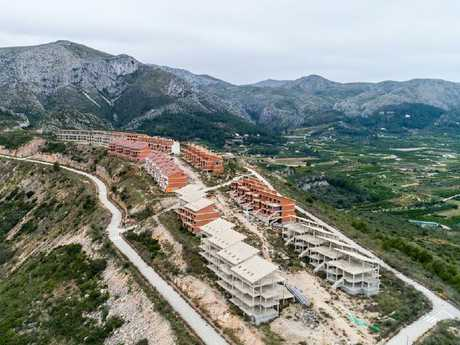 New residents and tourists were expected to fill up the new homes. Picture: Markel Redondo