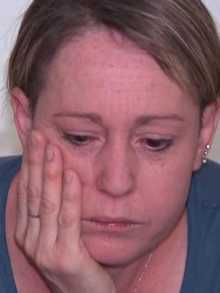 The mum of two blew 0.445 when breath tested. Picture: 9NEWS