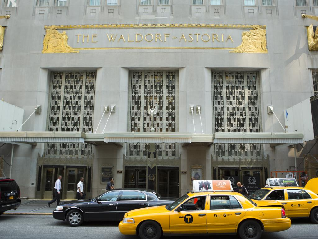 There were suggestions Barack Obama refused to stay in New York's Waldorf Astoria because of security concerns.