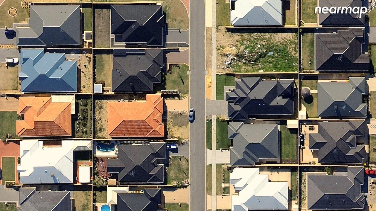 Before: Hocking, Western Australia. Picture: Nearmap.com.au
