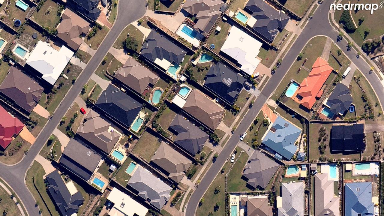 Before: Pacific Pines, Queensland. Picture: Nearmap.com.au