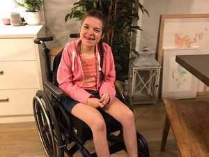 FOUND: Woman reunited with stolen wheelchair