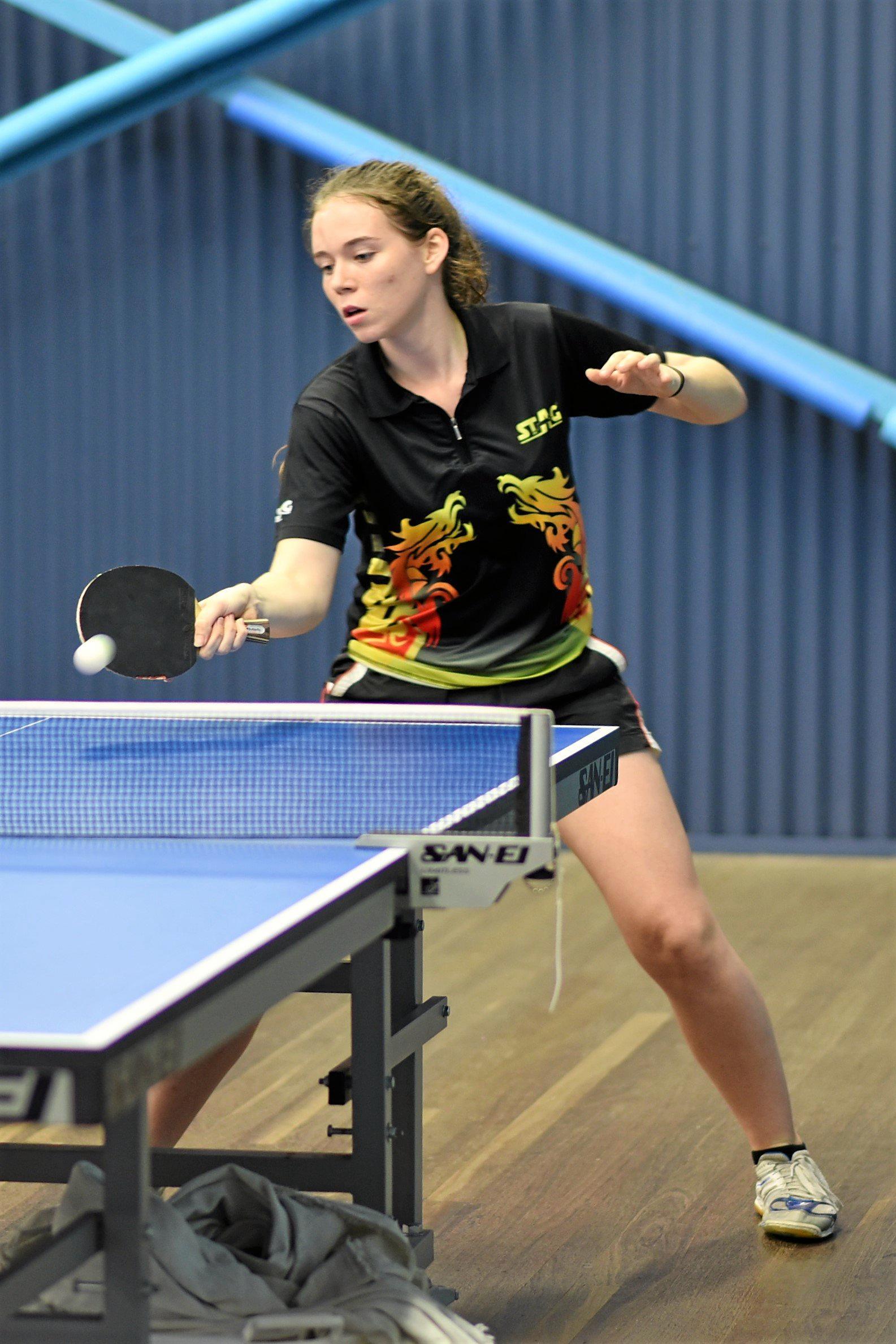 Mackay Table Tennis' Rebekah Stanley.