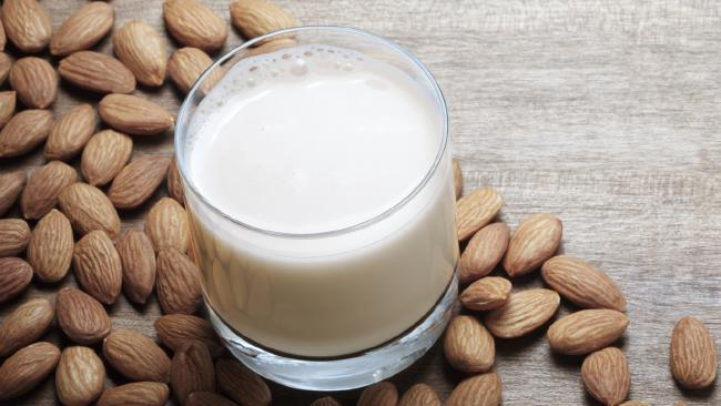 The problem with almond milk. Picture: iStock