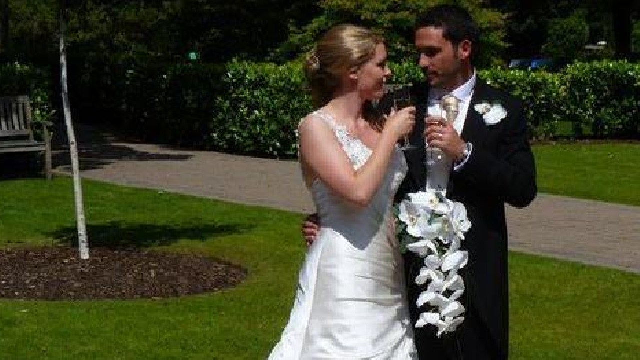 The couple wed in 2011. Picture: Facebook