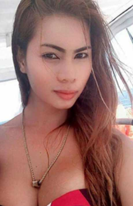 Jennifer Laude's body was found semi-naked in a motel bathroom, with black strangulation marks on her neck and her head in the toilet bowl. Picture: Supplied