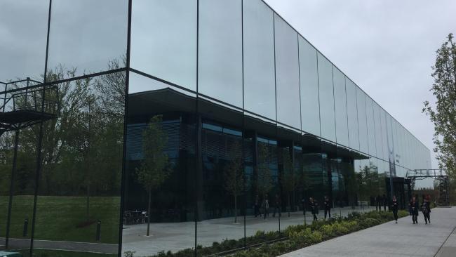 Dyson's secretive D9 research facility. Picture: Victoria Craw/News.com.au. Inside Dyson's Top Secret Factory