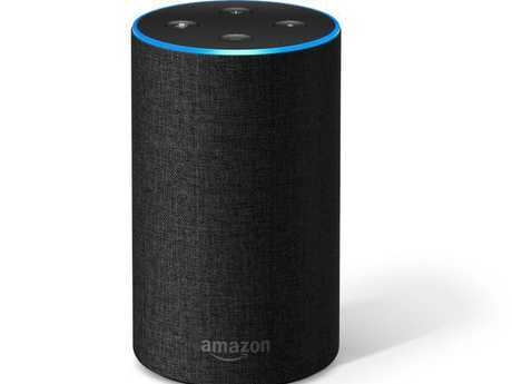 Amazon's Echo smart speaker, powered by the Alexa voice assistant, is popular in Australia.  Picture:  Supplied