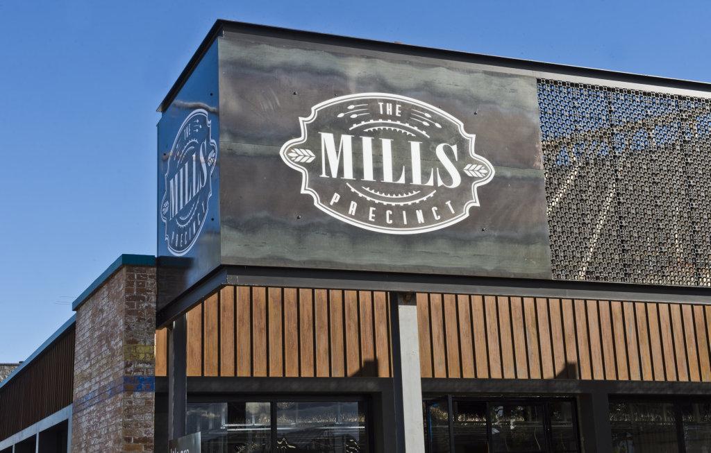 The Mills Precinct. Monday, 30th Apr, 2018.
