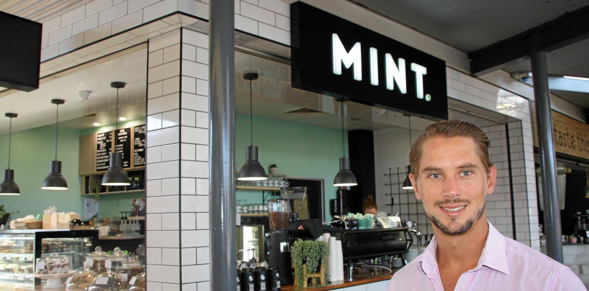 RIGHT MIX: Peter Capps of Savills at Mint, Shop 8 Buderim Marketplace.