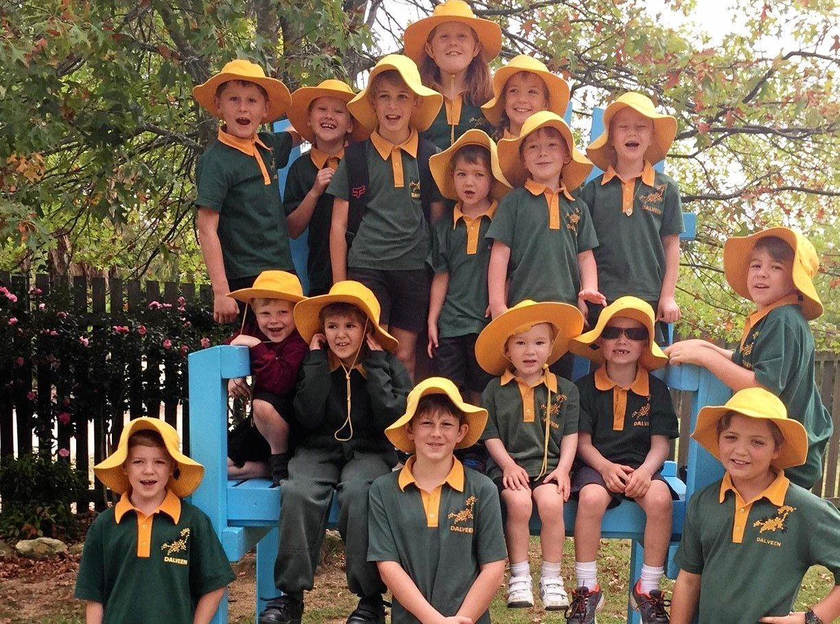 GREAT MANNERS: Dalveen students enjoy their day out at the Granite Belt Maze.