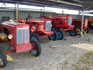 Red hot tractor auction