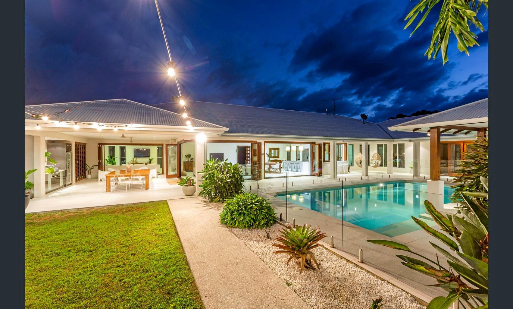 SIMPLY STUNNING: This piece of paradise at 90 Fritz Road, Chatsworth is up for sale.