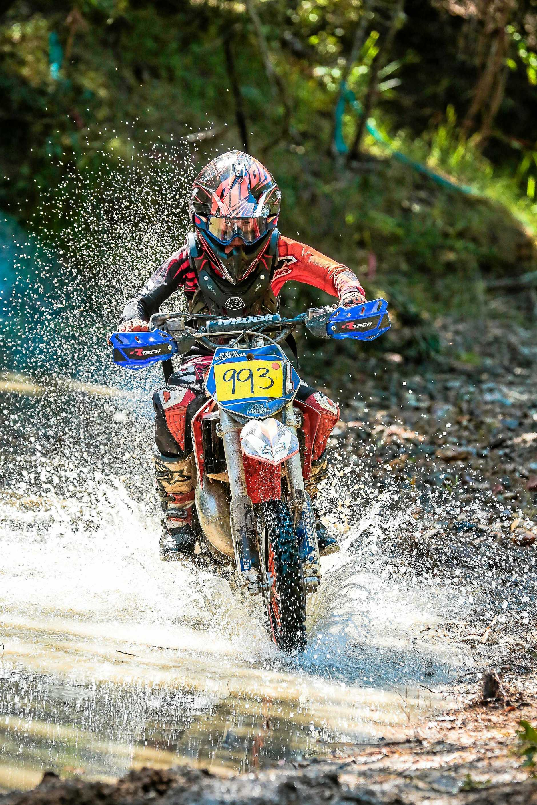 Junior action from off road challenge.