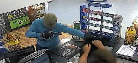 Nathan James White has been jailed after pleading guilty to the armed robbery of a Coast servo.