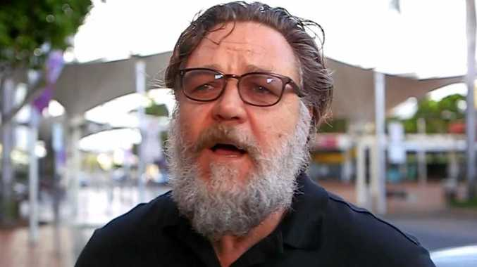 Russell Crowe reflects on Anzac Day after the Coffs Harbour Dawn Service.