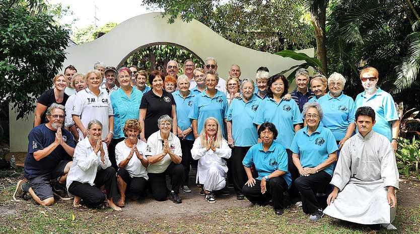 WORLD TAI CHI DAY: Around 50 tai chi students and teachers from Hervey Bay, Bundaberg and Brisbane practiced the art at the Hervey Bay Botanic Gardens on World Tai Chi Day (the last Saturday of April).