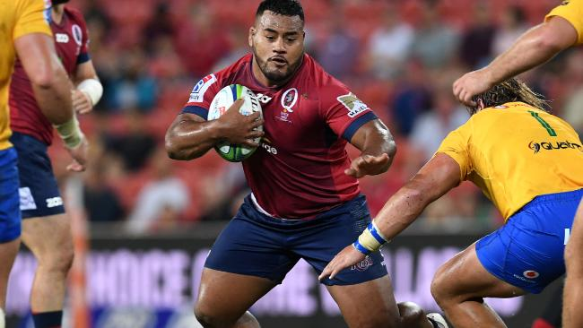 Reds boss Thorn wants to keep Tupou on track. (AAP Image/Dan Peled)