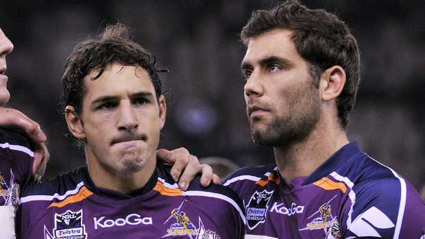 Billy Slater and Cameron Smith feared the 2010 salary cap scandal would spell the end of the Melbourne Storm.