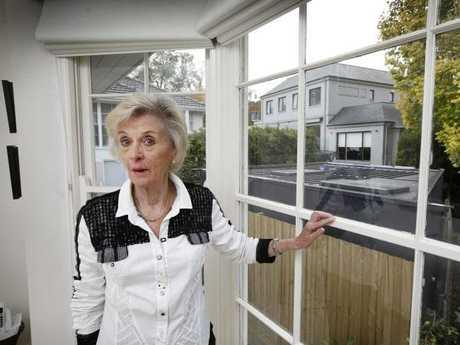 Toorak resident Helen Elsworth is upset with her neighbour MasterChef judge George Calombaris. Picture: David Caird