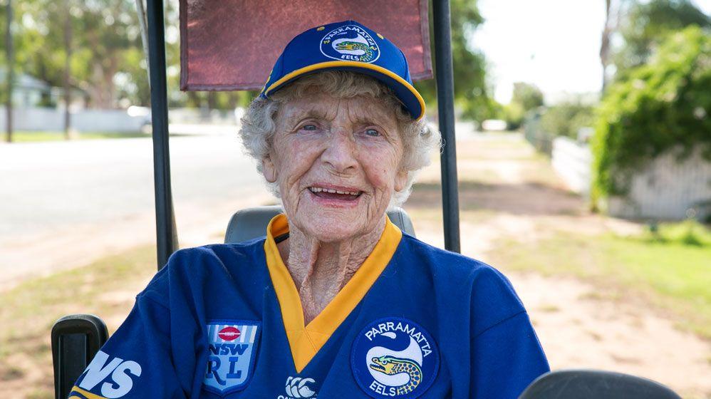 ART OF AGEING: Meet fanatic Ells fan Majorie