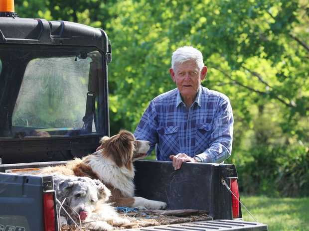 ART OF AGEING: Tom has lived an extraordinary life as a military man, lawyer, father and farmer.