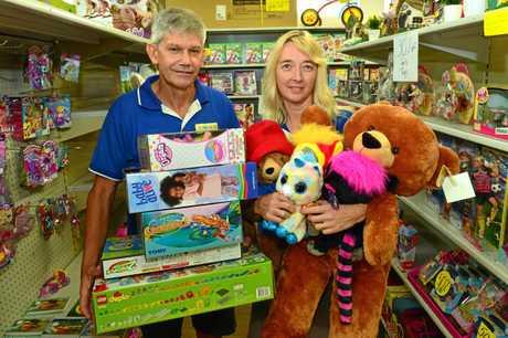 Geoff and Karen Jensen have closed Toyworld in Nambour.