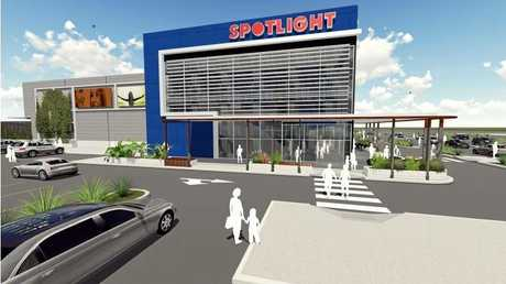 Spotlight has lodged an application to build a new showroom, food and drink outlets and market in Dalton Drive, Maroochydore.