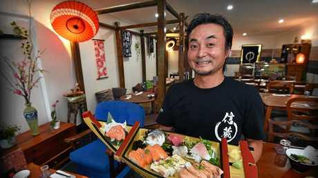 The newest traditional Japanese Restaurant Nobuzo Japan Diner has opened on Brisbane Road, Mooloolaba. Owner chef Nobu Suzuki.