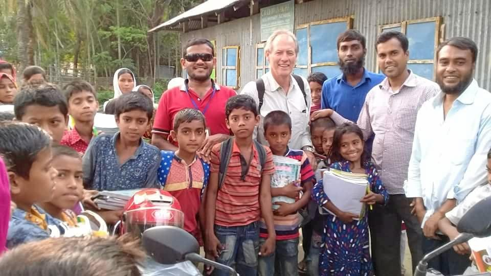 SOLID FOUNDATION: Fred Hyde's passion for helping educate remote communities in Bangladesh has left an impact that will last generations.