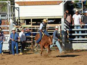 Riders try their luck at show
