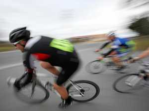 Cyclist pileup leaves three riders in hospital