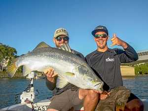CQ fisherman face of Fitzroy region barra campaign