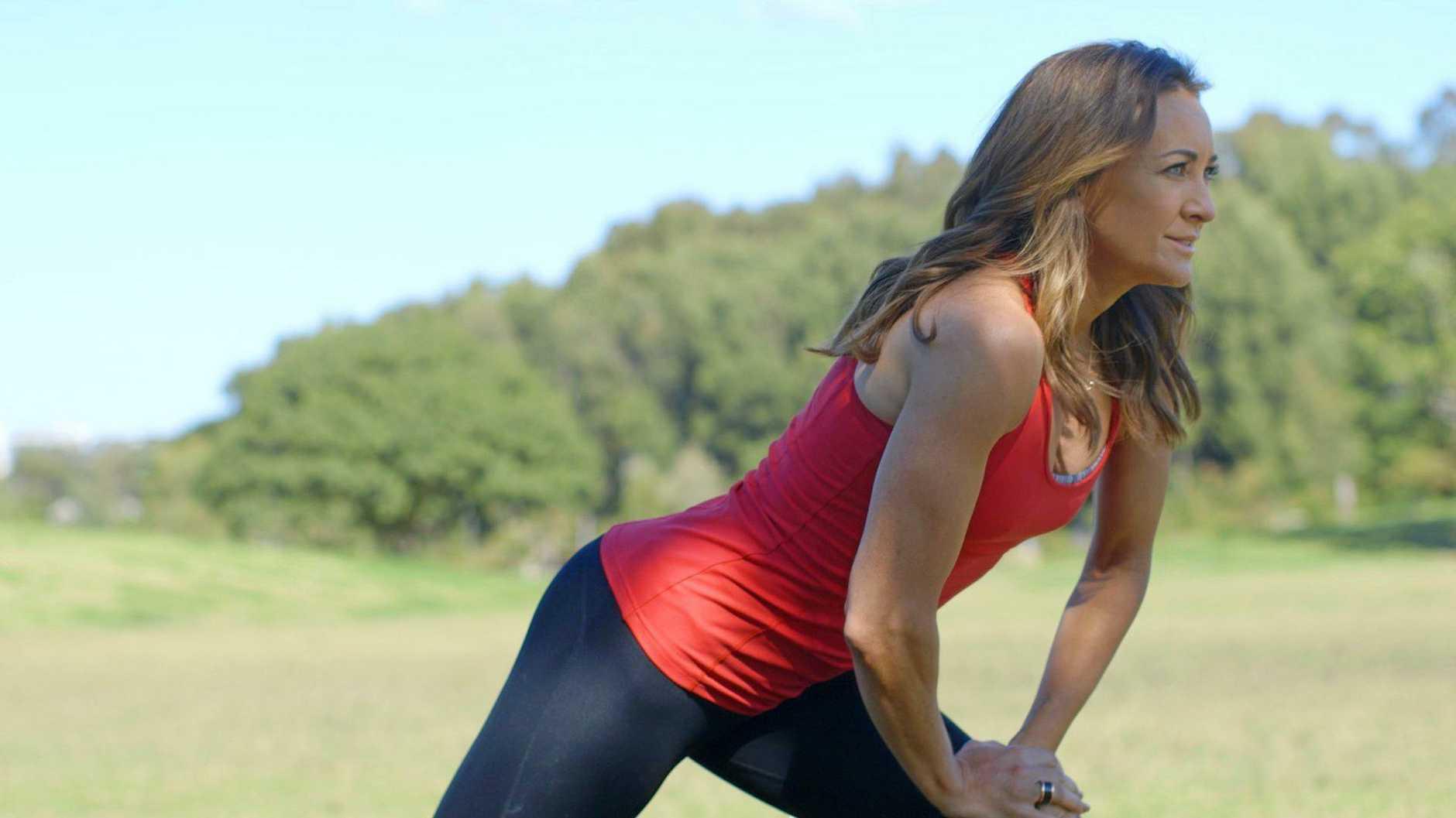MOOD LIFT: Ambassador Michelle Bridges says a little physical activity can help ward off depression.