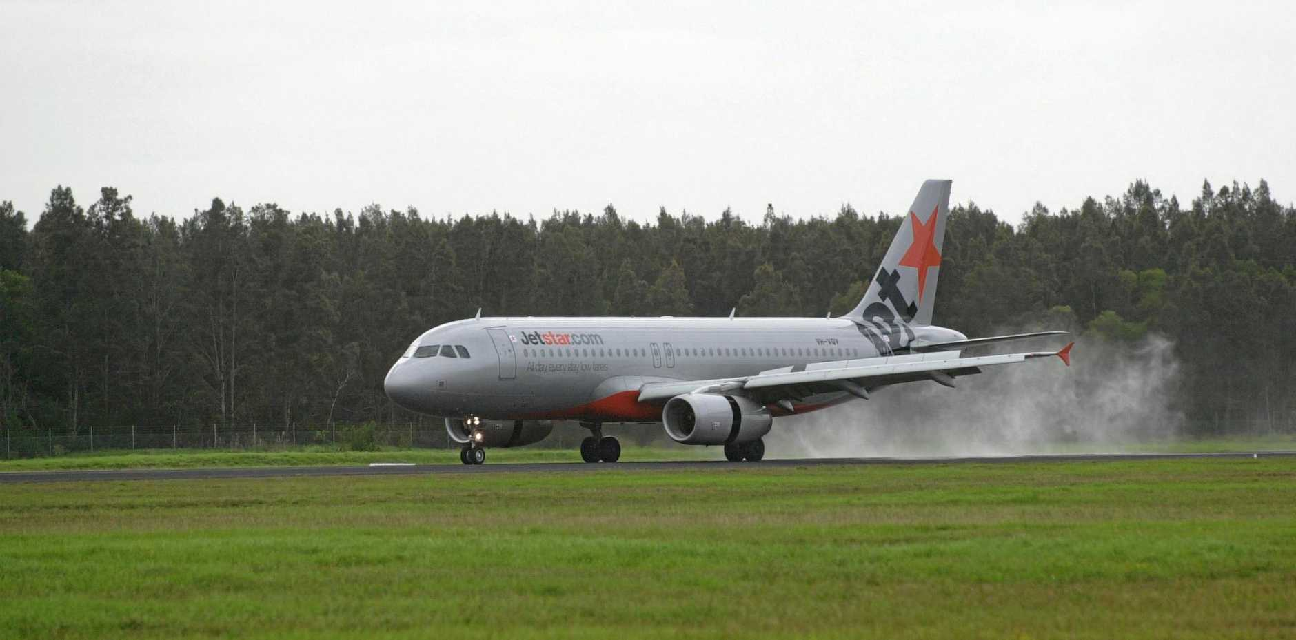 A passenger on a Jetstar flight returned a positive coronavirus test.