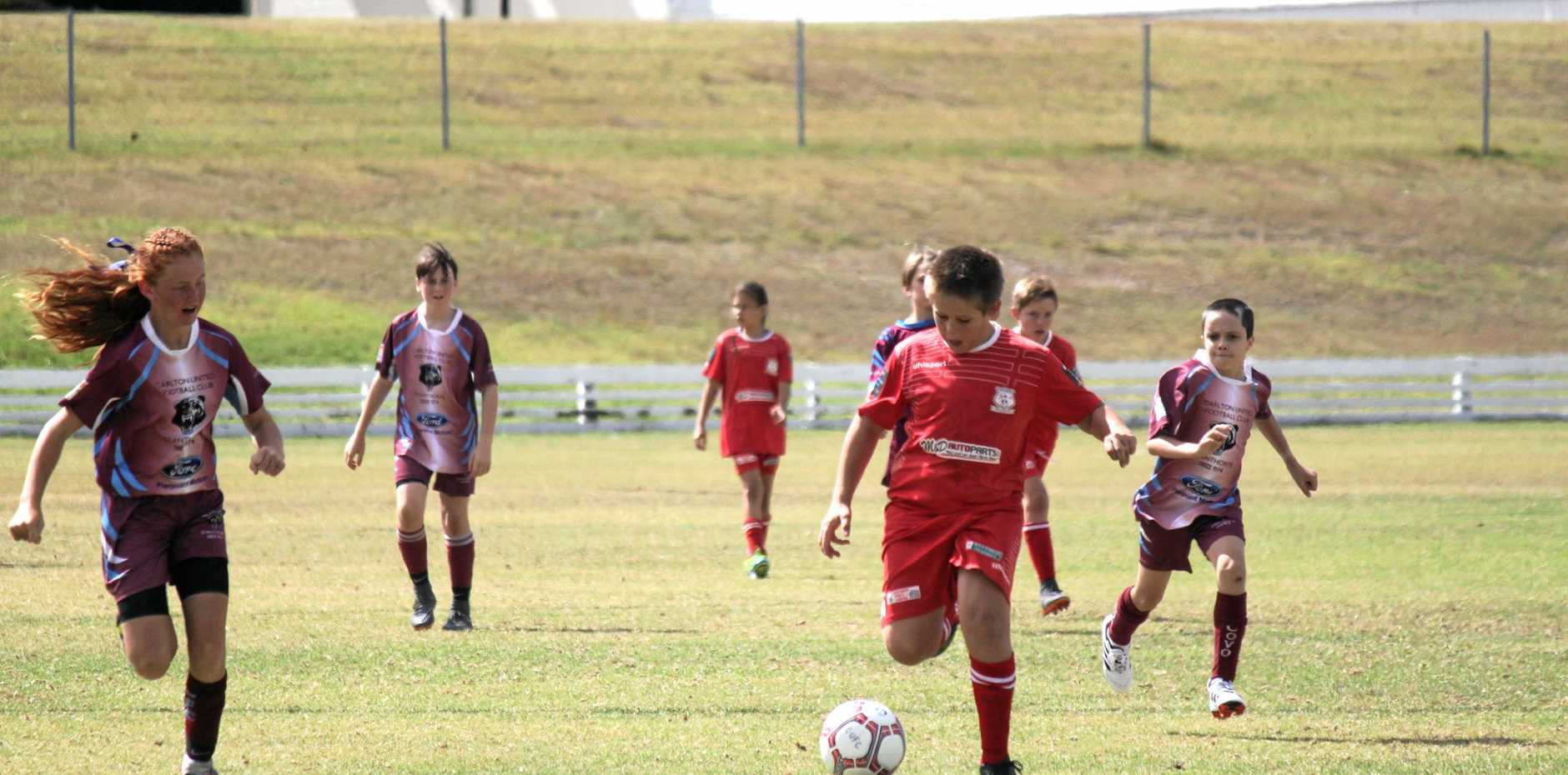 Ballandean and Carlton junior colts battled it out at C.F White on Saturday.