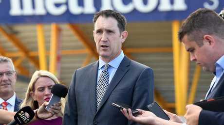 Cricket Australia CEO James Sutherland.