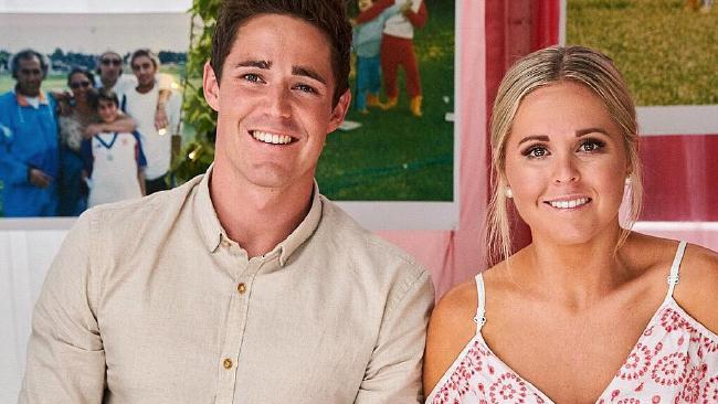 Henry and Anna are out of my Kitchen Rules. Picture: Instagram