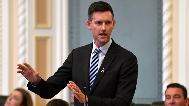 Transport Minister Mark Bailey.
