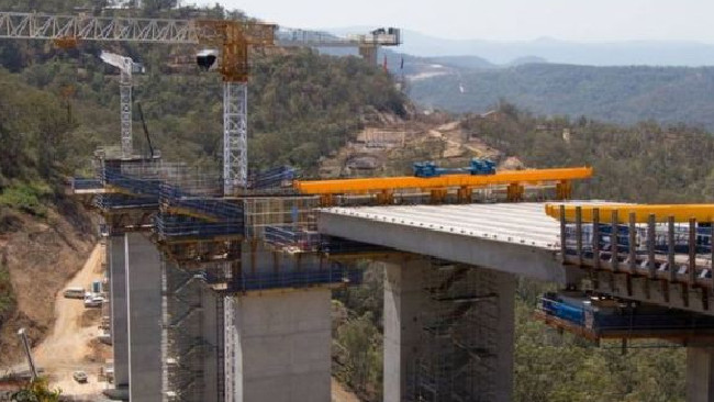 Work on the second Toowoomba Range Crossing. Picture: Supplied