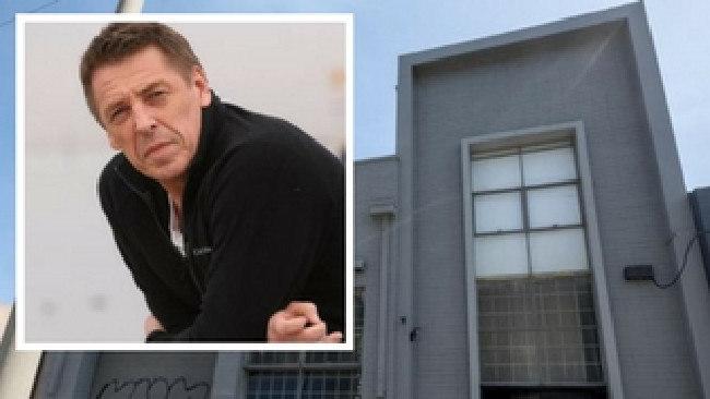 Mark Thompson's Port Melbourne home. Inset: