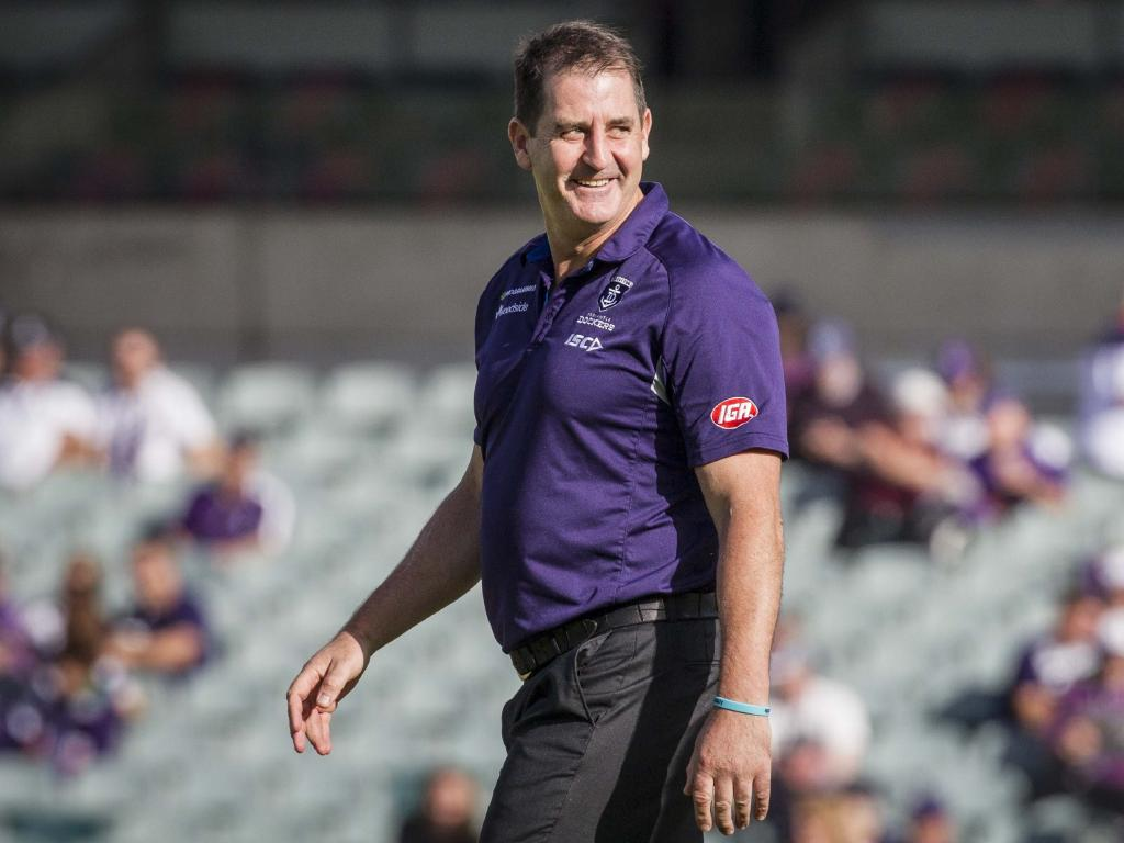 Ross Lyon has played a straight bat to questions about the sexual harassment scandal.