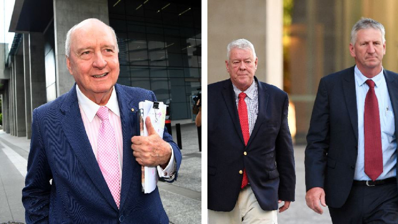 Neill, John, Denis (not pictured) and Joe Wagner (not pictured) have sued Alan Jones, Radio 4BC Brisbane, Jones's employer, Harbour Radio and journalist Nick Cater for damages for alleged defamation.