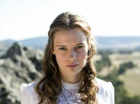 Lily Sullivan plays Miranda in the TV series adaptation of Picnic At Hanging Rock.