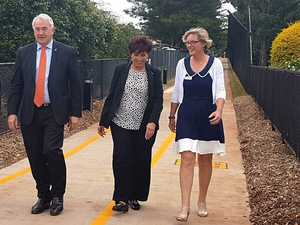 TOOWOOMBA'S latest cycle/pedestrian path alongside the City Golf Club has been officially opened.