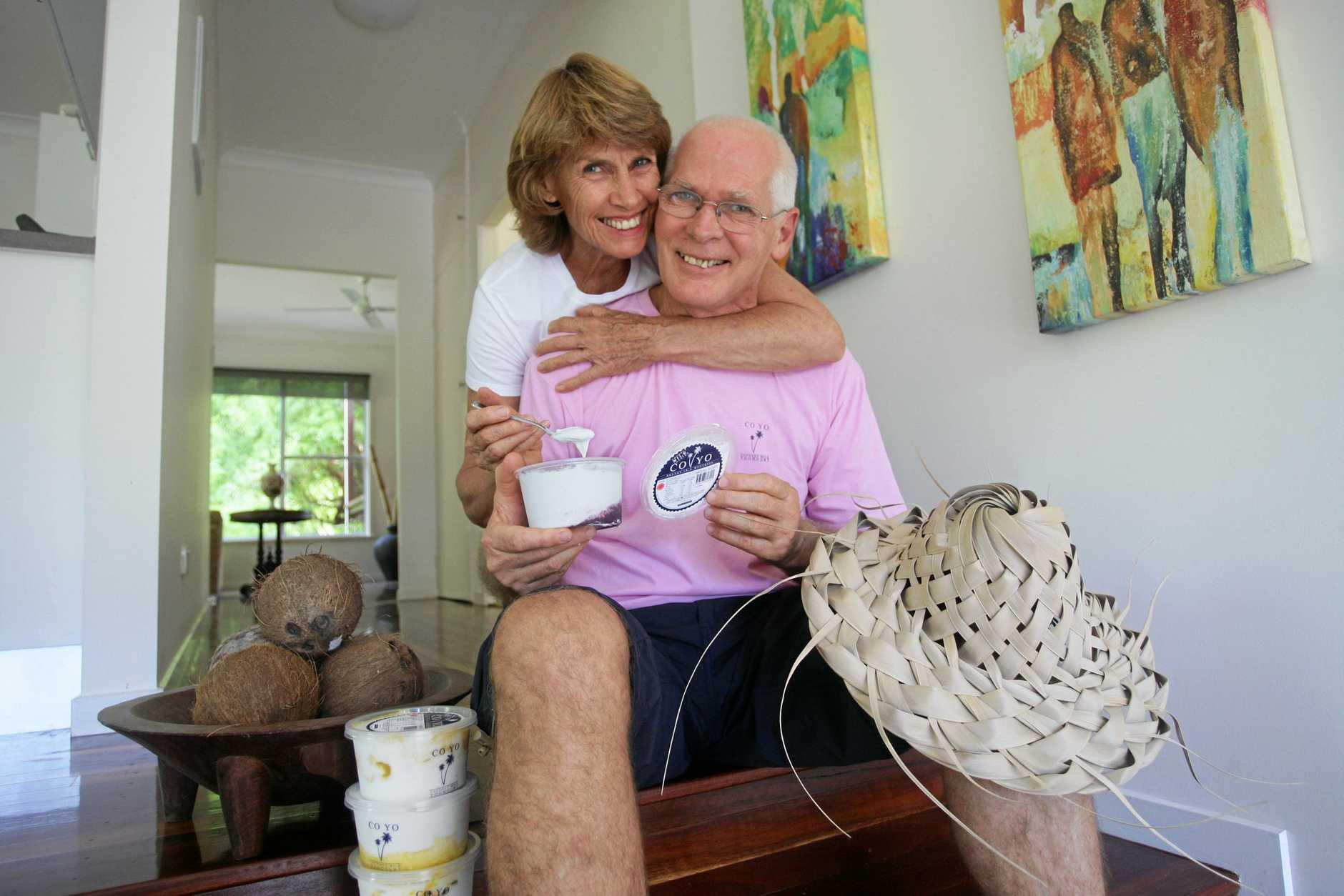 Henry and Sandra Gosling, creators of CO YO.