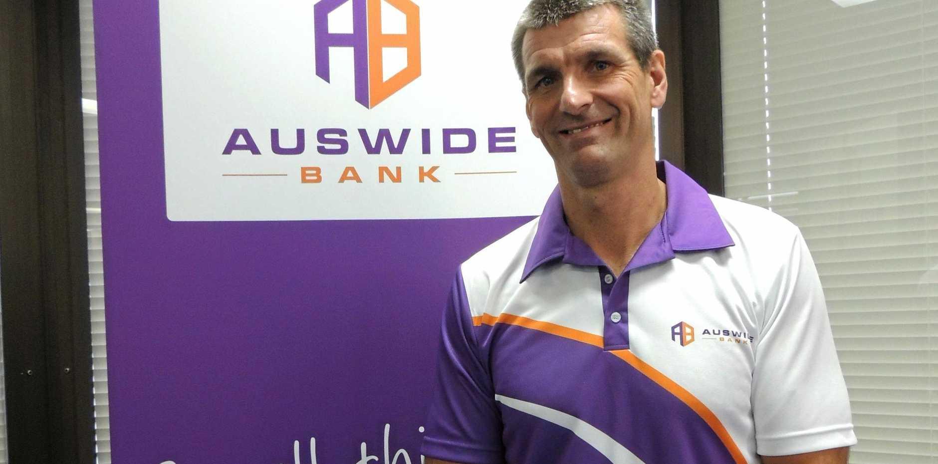 Auswide Bank CEO Martin Barrett.