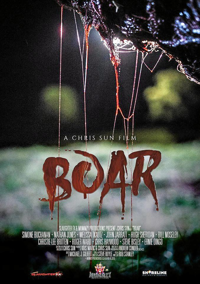 BIG NEWS: Chris Sun's latest horror film, Boar that was filmed in the Mary Valley will premiere in Australia this month.