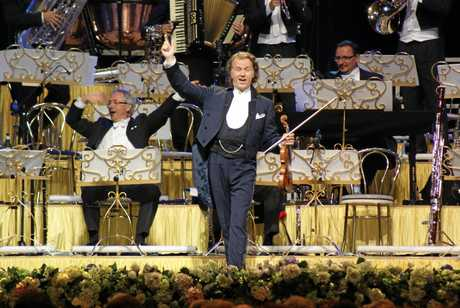 ON SCREEN: Andre Rieu pictured during his annual Maastricht Concert, which will be shown at local cinemas.