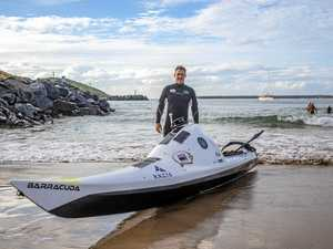 Kayaker sets off on third attempt to paddle to NZ